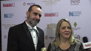 TBO Holidays, Sueli Muruci, Country Manager – Brazil Pablo Sola, Regional Manager – Southern Rim