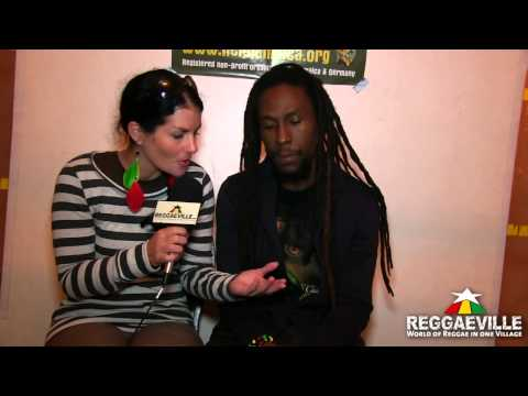 Interview: Jah Cure @ Reggae Jam 8/4/2012