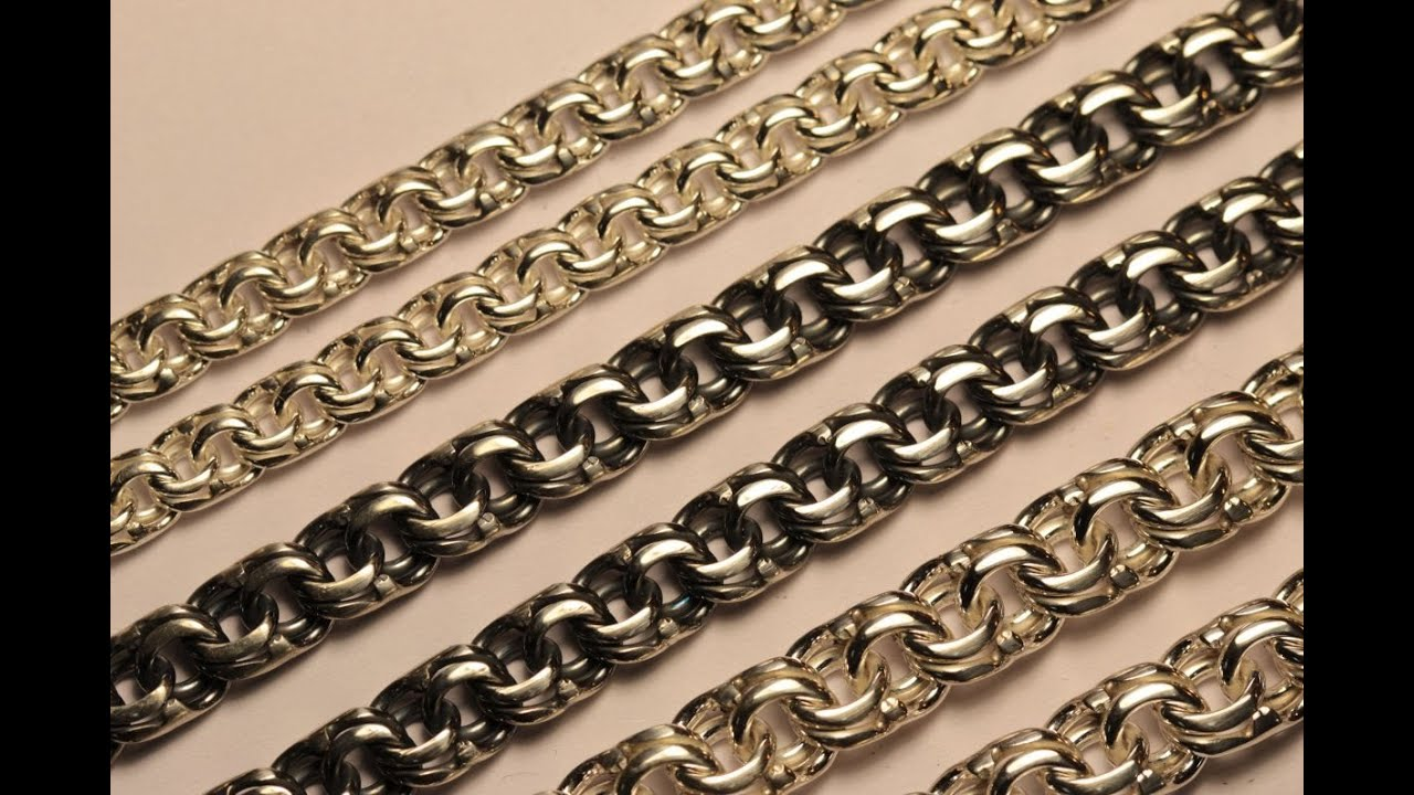 How to weave chain,