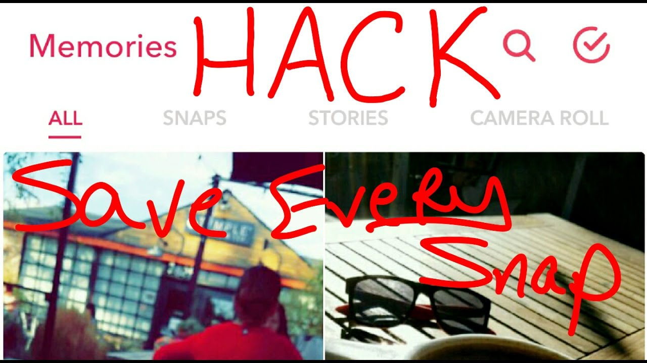 Snapchat Memories Hack: How To Find Lost Snaps & Save Every Snap  Automatically: Snapchat 101