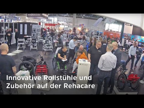 Rollstuhl-Neuheiten von der Messe Rehacare 2018 - Innovationen (Dynamisches Sitzen, FatWheels, etc.)