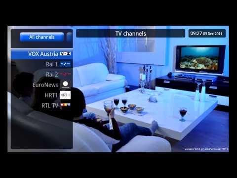 IPTV - Glavni izbornik