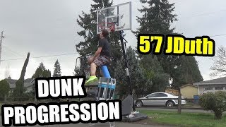 5'7 Dunk Progression (2015-18 Progress) Video