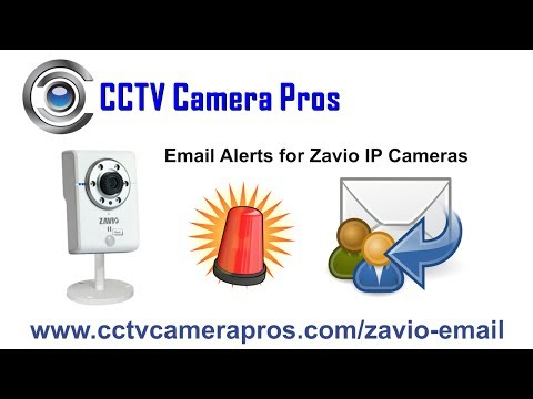 Network IP Camera Email Alert Notification
