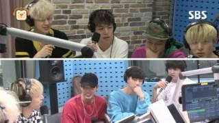 "iKON B.I/Hanbin imitating TWICE Sana's ""Cheejeukimbap"" (치즈김밥)"
