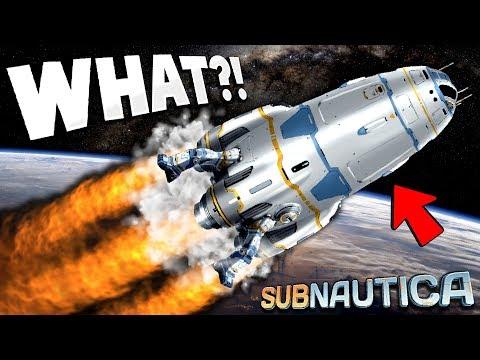 *LEAKED* NEW SUBNAUTICA ENDING ROCKET GAMEPLAY SECRETS!!!!  - Subnautica Gameplay Updates...NO
