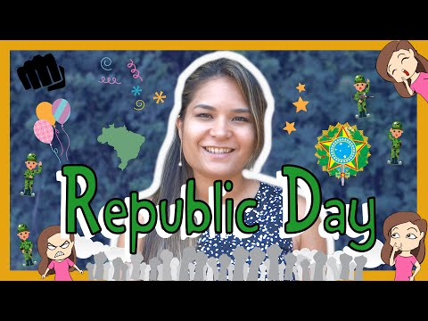 Brazilian Portuguese REPUBLIC DAY Words with Paloma