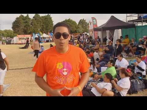POLYFEST 2013 NIUE STAGE HOSTED BY HAANZ FAAVAE JACKSON