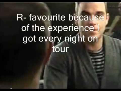 Robbie Williams & Gary Barlow (radio Rudebox tribute)