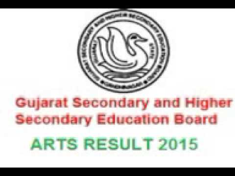 Gujarat HSC Result 2015, GSEB 12th Board Result Commerce Sci Arts