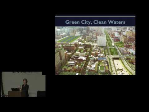 Green Infrastructure, Climate, and Cities Seminar 2016-12-7