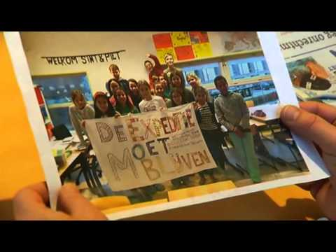 Leerling de Expeditie strijdt tegen sluiting school