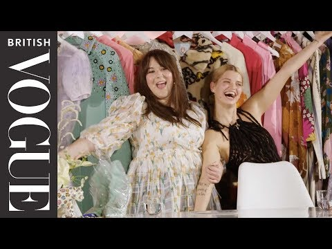 Inside The Wardrobe With Pixie Geldof | British Vogue & Google Pixel 3