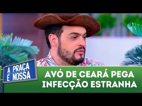 Avó de Ceará pega infecção estranha | A Praça é Nossa (21/06/18)