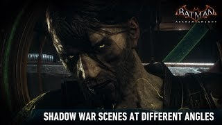 CAM; Batman; Arkham Knight; Shadow War Scenes At Different Angles
