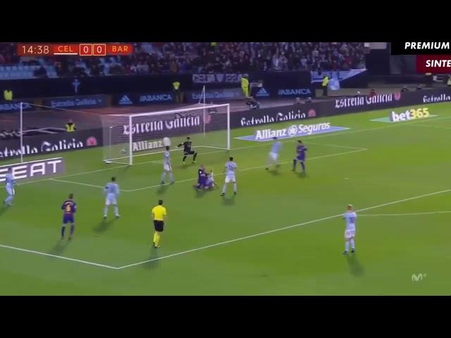 ברצלונה נגד סלטה ויגו תקציר המשחק