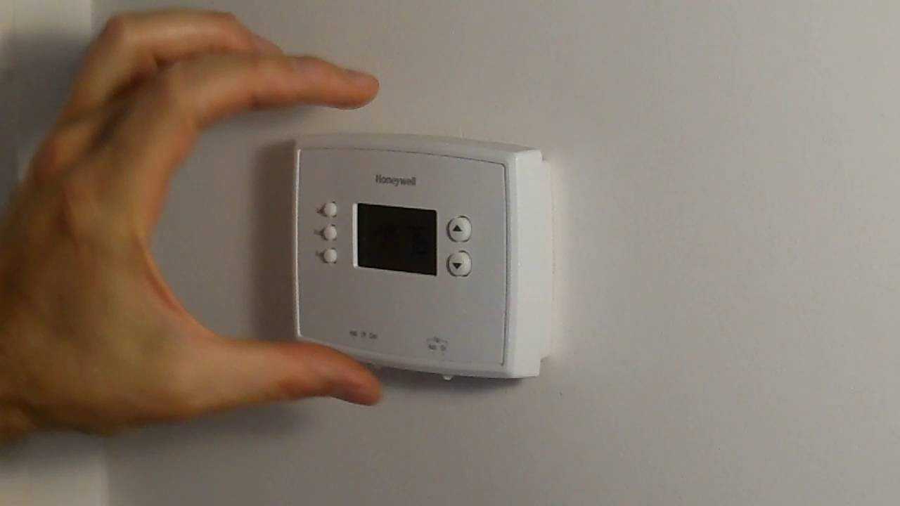 How To Change Batteries On Honeywell Thermostat Rth