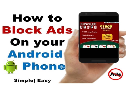 Hindi How To Remove Ads From Your Android Phone No App
