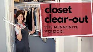 NOT Just Another Konmari Closet Declutter | Small Closet Organization Tips