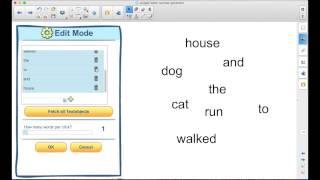 Using the SMART Board in Instruction: The Random Word Generator Widgets