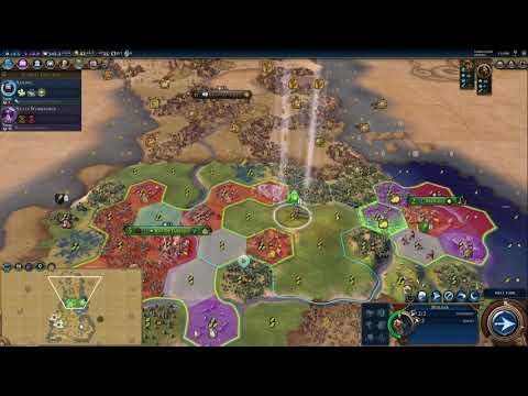 Civilization 6 (Brazil - Prince/Culture) (2) - Aztecs!