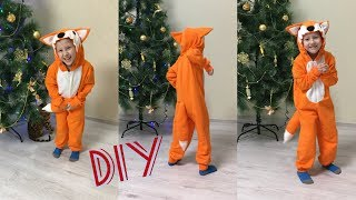 Как сшить новогодний костюм. Как сшить костюм лисёнка |TIM_hm|