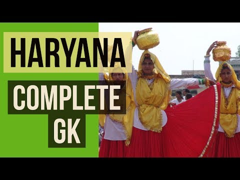Haryana State General Knowledge Part-1