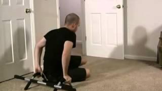 Iron Gym - Product Review - Турник универсальный Айрон Джим(Многие из нас знают, что подтягивание -- одно из основных упражнений, направленных на развитие мышц рук...., 2012-07-31T08:17:54.000Z)