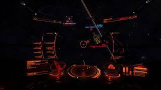 Elite Dangerous PVP   CMDR HARRY POTTER (Friend Ship Drive Charging)