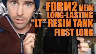 Formlabs Long lasting Resin Tank Unboxing and first test