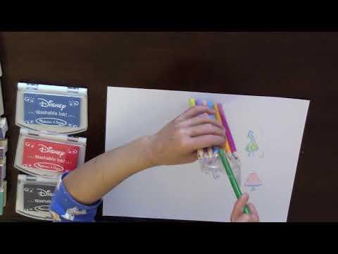 Kid Review Melissa Doug Frozen Deluxe Wood Stamp Set