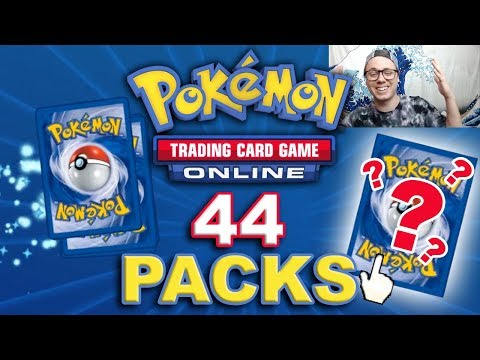 Opening 44x Pokemon Trading Card Game Online Packs with HI-LIGHT MONTAGE!