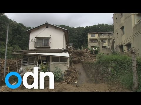 Landslide in Hiroshima, Japan kills 18 leaving many stranded