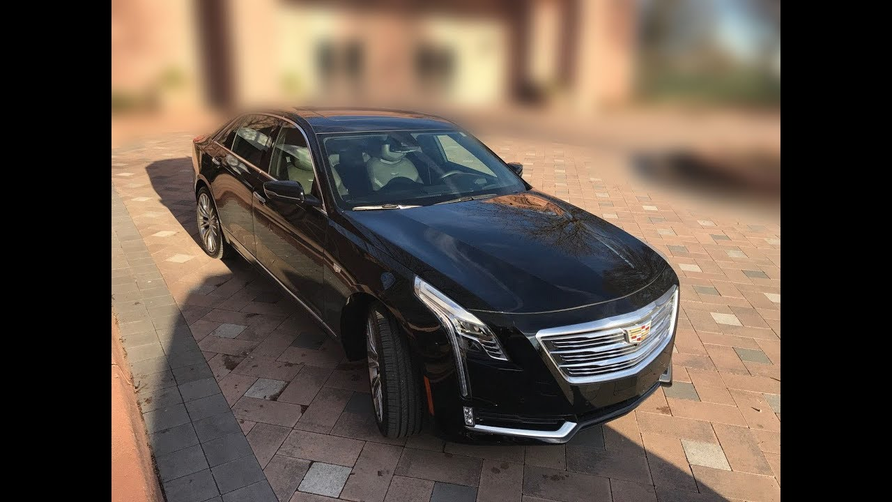 new 2018 cadillac ct6 premium luxury sedan 4 door awd 3 0l. Black Bedroom Furniture Sets. Home Design Ideas