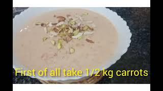 Gajar Ki Khyr Gajryla Recipe Easy And Quick Recipe Of Gajryla