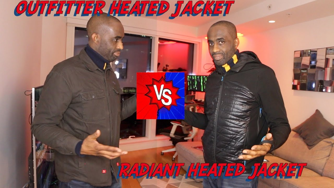 5e0bb49fc59 RADIANT heated jacket VS. OUTFITTER heated jacket BY VOLTHEAT- HERVEs  WORLD- episode 221