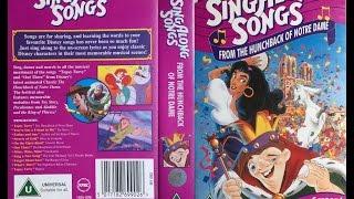 Video Sing Along Songs from Hunchback of Norte Dame (1996, UK VHS) download MP3, 3GP, MP4, WEBM, AVI, FLV November 2018