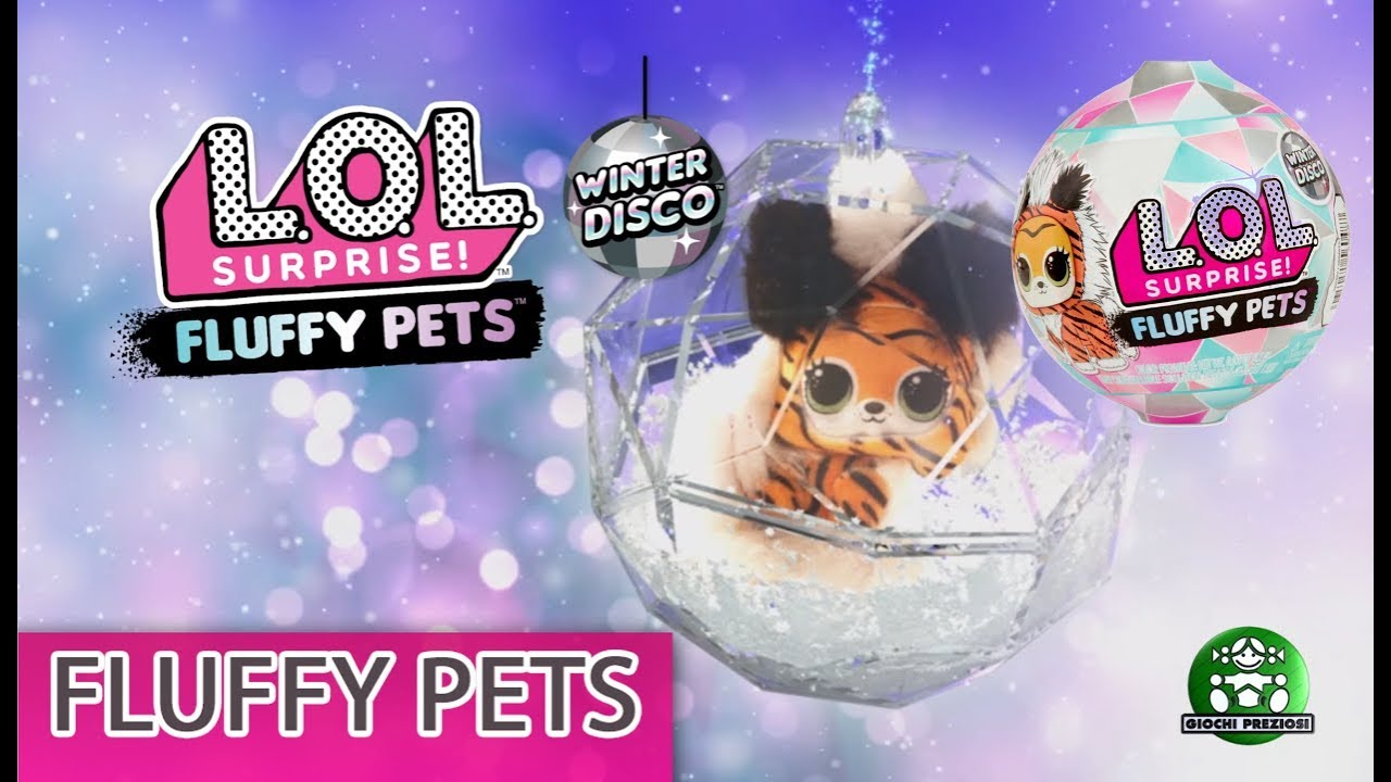 Giochi Preziosi Hellas | L.O.L. Surprise Fuzzy Pets Winter Disco