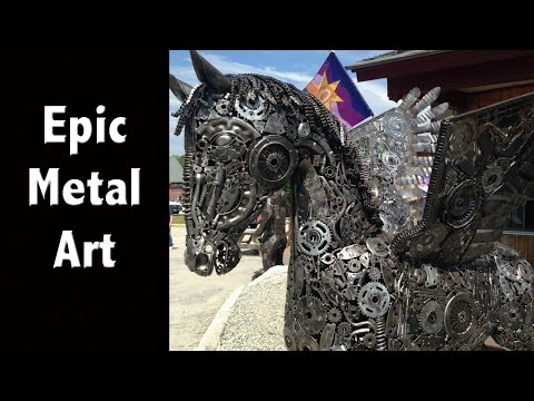Epic Metal Art Work & Wood Work - New Hampshire Tourism