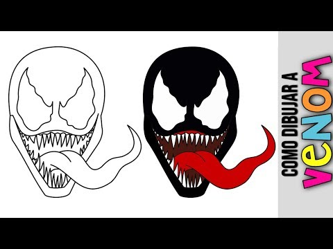 Como Dibujar A Venom Dibujos Para Colorear A Lapiz Animados