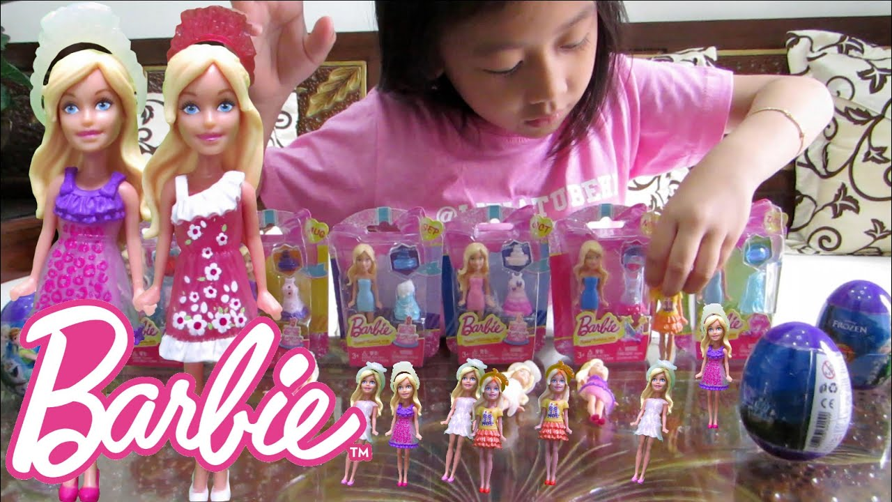 Mainan Barbie Mini Play - Birthday Series of the month  1b7ffbb86f