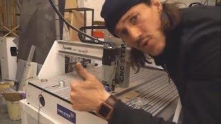 AceroDURO CNC Fräse Prototyp fräst Teile für Freilaufkupplung bei den Hoepner Brüdern / Zwei im Eis