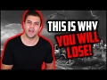 THIS IS WHY YOU WILL LOSE AT TRADING (Becoming a professional forex trader)