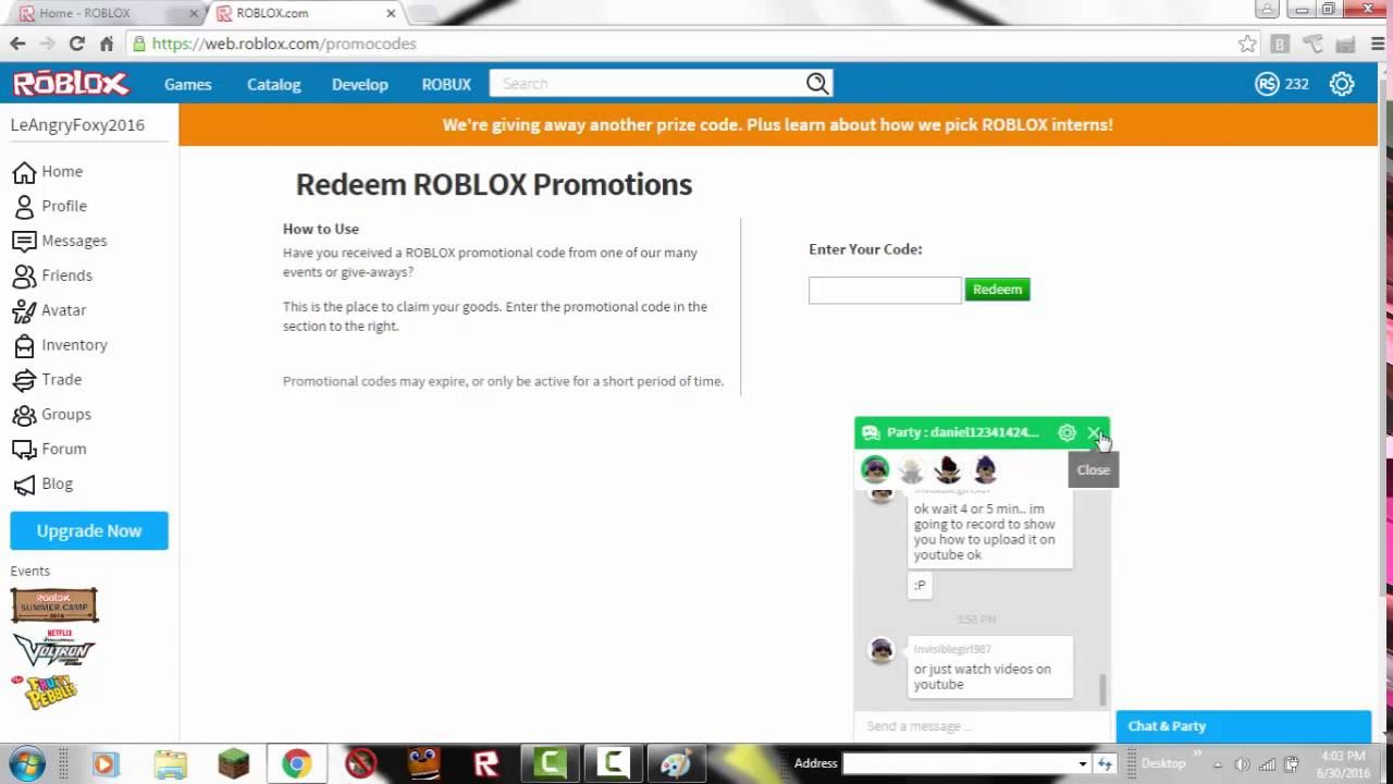 How To Redeem Roblox PromoCodes! | SkellySSG (CODES ...