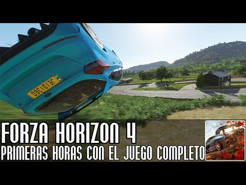 Forza Horizon 4 || Primeras horas con el juego completo || LIVE thumbnail