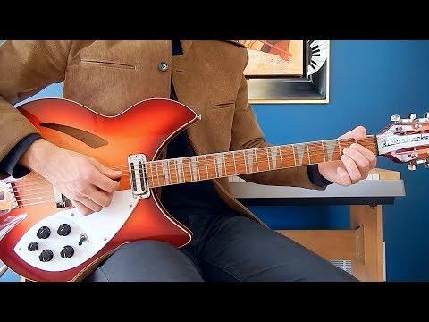 The Beatles - I Need You - Guitar Cover - Rickenbacker 360/12C63 - Gibson J-160E