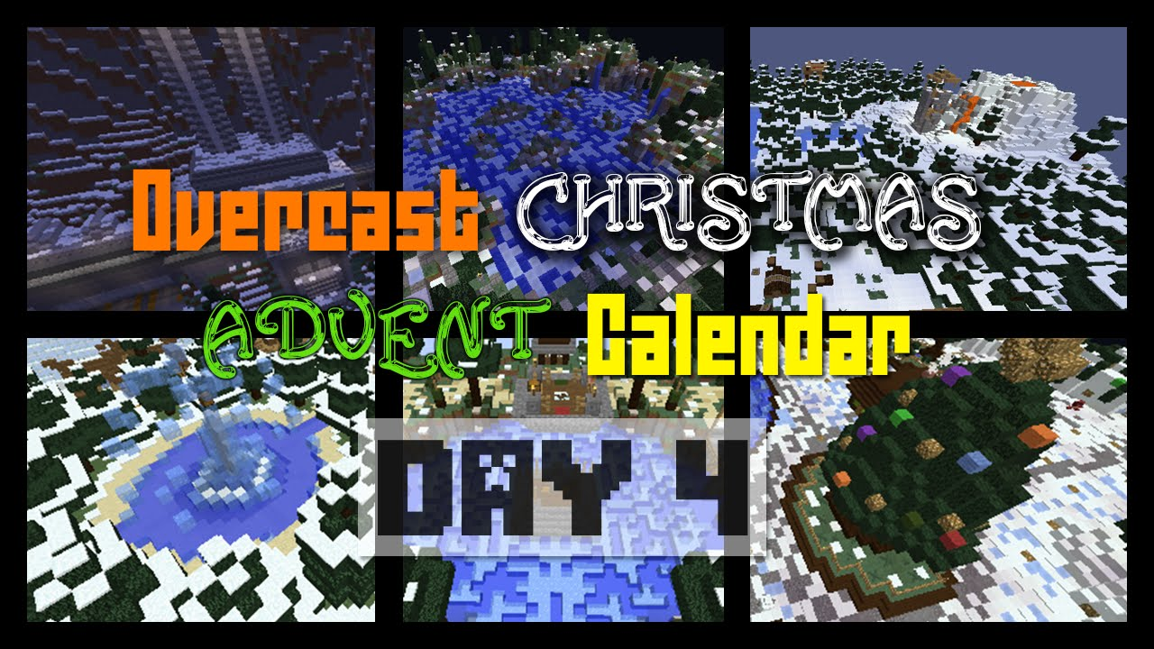 Christmas Calendar Minecraft Download : Day of overcast network christmas advent calendar