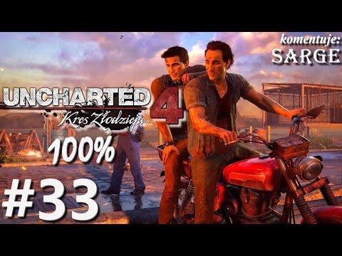 Zagrajmy w Uncharted 4: Kres Złodzieja 100% odc. 33  KONIEC GRY NA 100%  EPILOG