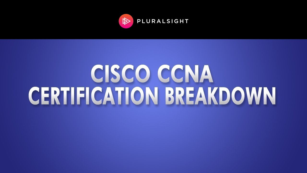 Cisco ccna certification breakdown youtube 1betcityfo Gallery