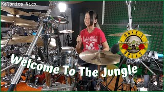 Guns N' Roses - Welcome To The Jungle | Drum cover Kalonica Nicx